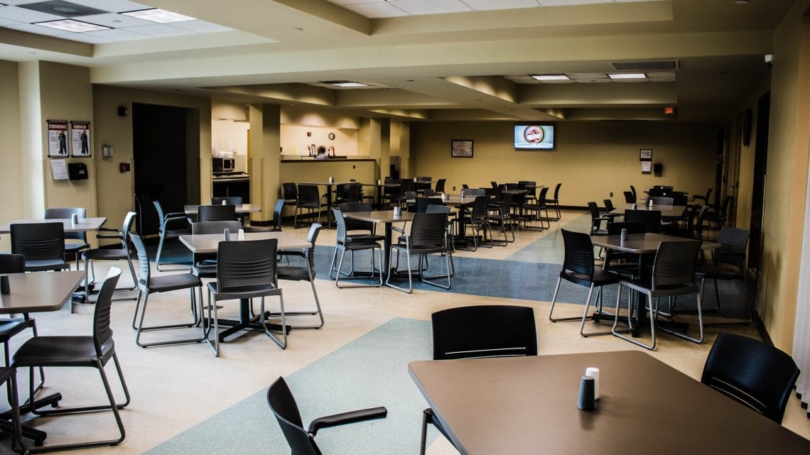 Dover Behavioral Health System Dining Hall