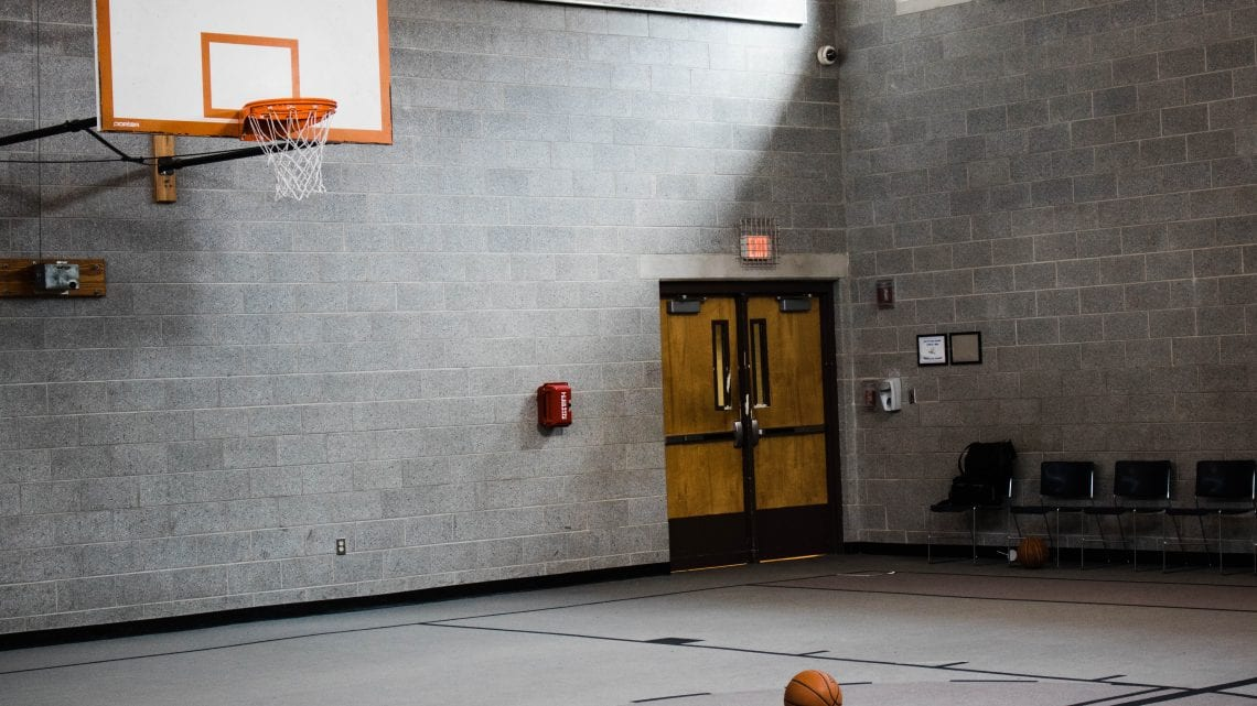 Dover Behavioral Health System Indoor Basketball Court