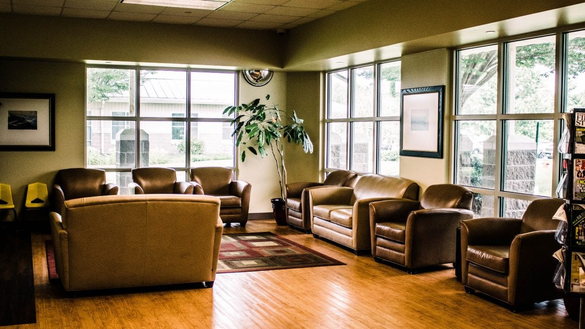 Dover Behavioral Health System Waiting Lobby